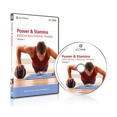 DVD - Power & Stamina: Medicine Ball Interval Training Vol.1