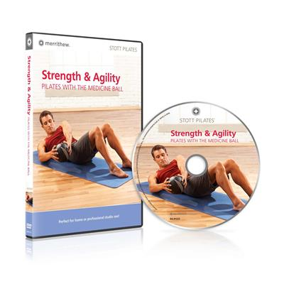 DVD - Strength & Agility: Pilates with the Medicine Ball