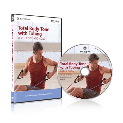 DVD - Total Body Tone with Tubing,  Upper Body & Core
