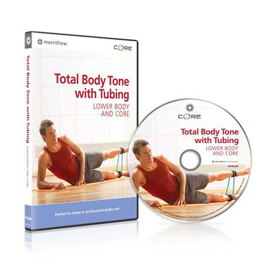 DVD - Total Body Tone with Tubing,  Lower Body & Core