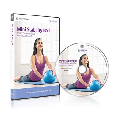 DVD - Mini Stability Ball -Breathing & Muscular Release