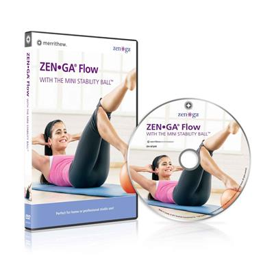 DVD - ZEN•GA® FLOW with the Mini Stability Ball™