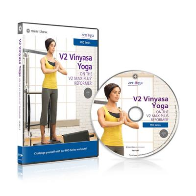 DVD - V2 Vinyasa Yoga on the V2 Max Plus Reformer, Level 2