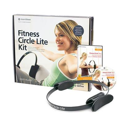 Fitness Circle® Lite Kit with DVD & Poster - 14 inch (Black)