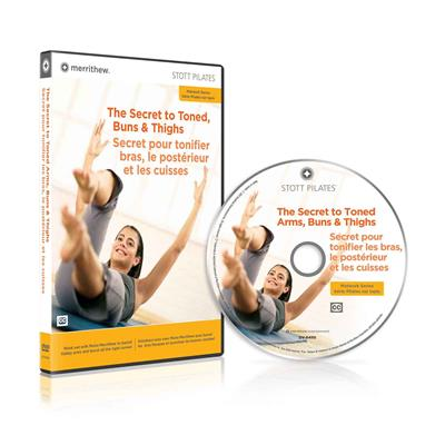 DVD - The Secret to Toned Arms, Buns & Thighs (EN/FR)
