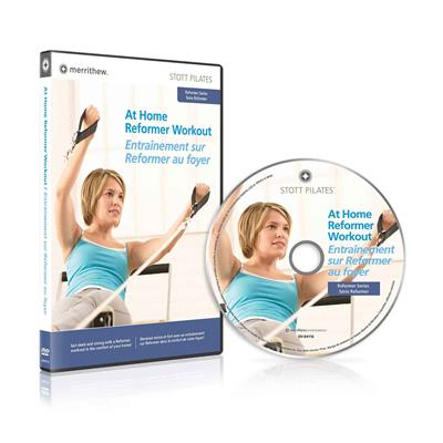 DVD - At Home Reformer Workout (EN/FR)
