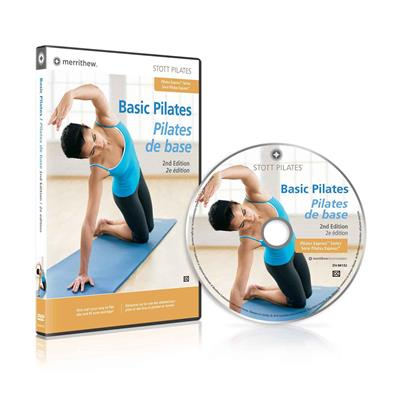 DVD - Basic Pilates, 2nd Ed. (EN/FR)