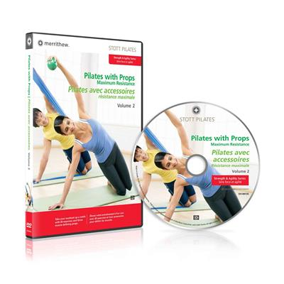 DVD - Pilates with Props, Maximum Resistance, Vol. 2 (EN/FR)