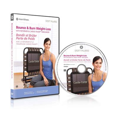 DVD - Bounce & Burn, Weight Loss with Reformer & CardioTramp