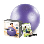 Stability Ball™ Plus Kit - 75cm (Purple)