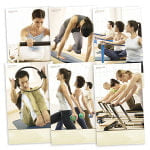 Pilates Poster - Set of 6