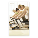 Pilates Poster - Group Reformer