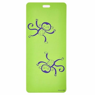 Eco Mat for Kids - Funky Monkeys (Green)