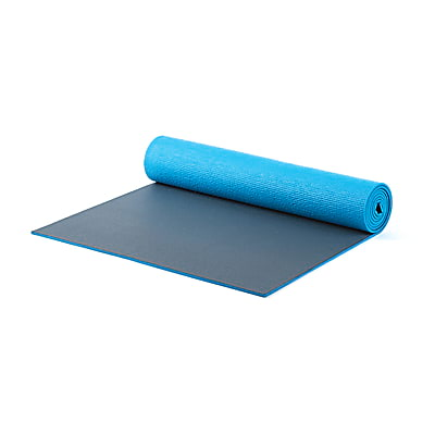 Pilates & Yoga Mat XL - (blue/gray)