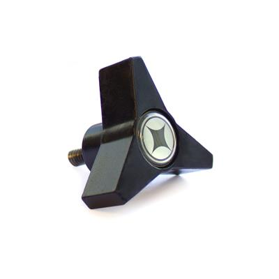 Star Knob, 3 Prong 1/4 (Stability Barre/Chair Handle)