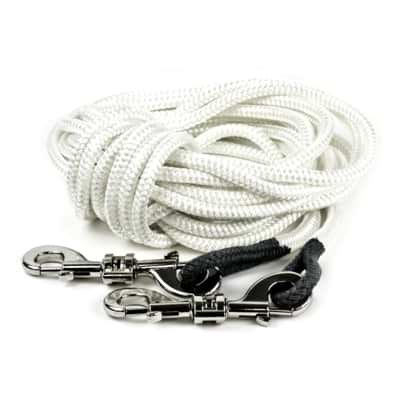 Reformer Ropes (pair, retractable rope system, white)