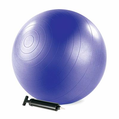 Stability Ball™ with pump - 75cm (Purple)
