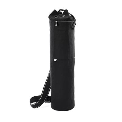 Pilates & Yoga Canvas Mat Bag (black)