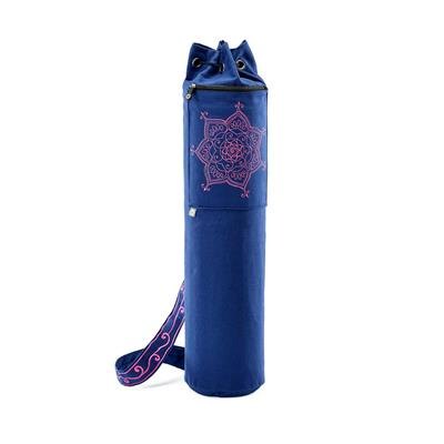 Pilates & Yoga Canvas Mat Bag (purple)