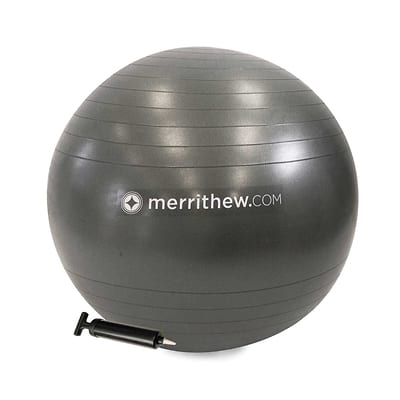 Stability Ball™ with pump - 75 cm (Gray)