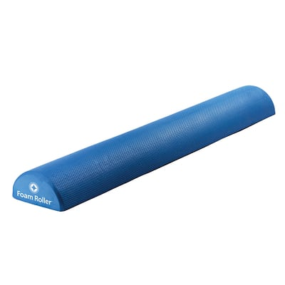 Foam Roller™ Soft Density, Half  - 36 inch (Blue)